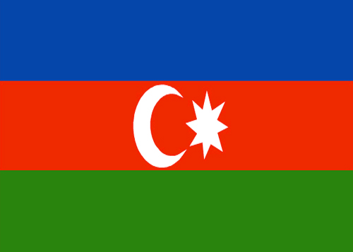 waf azerbaijan flag