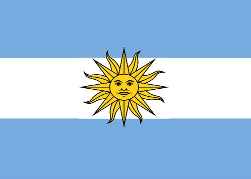 waf argentina flag