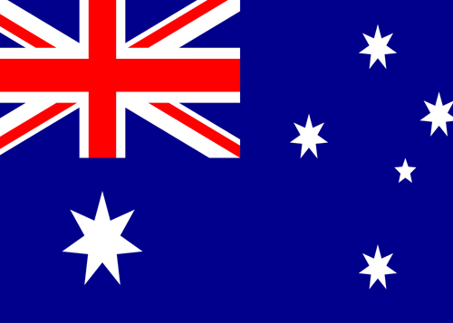 australia waf flag