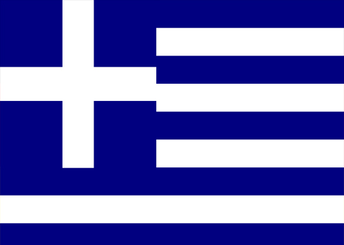greece flag waf