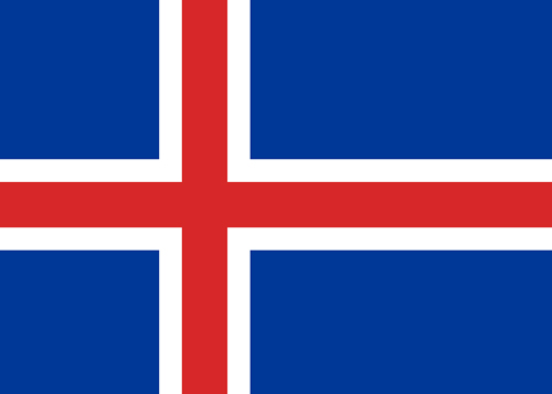 waf iceland flag