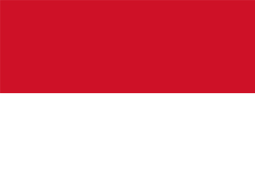 waf indonesia flag