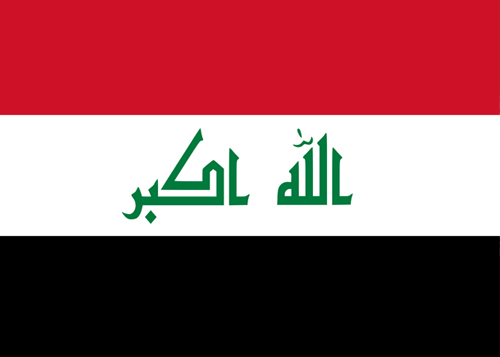 waf iraq flag
