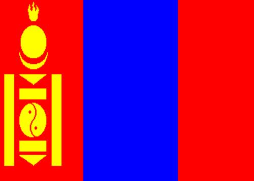 waf mongolia flag