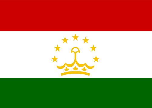 tajikistan waf flag