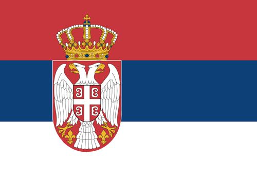 serbia waf flag