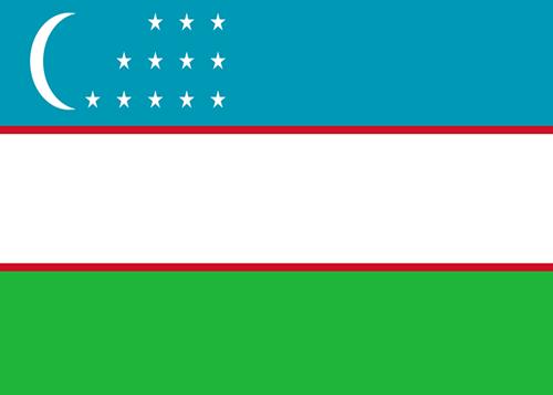 uzbekistan waf flag